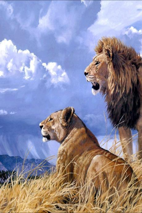 lion diamond painting,5d diy diamond painting,animal diamond painting,home decoration,decorative painting,bedroom decor