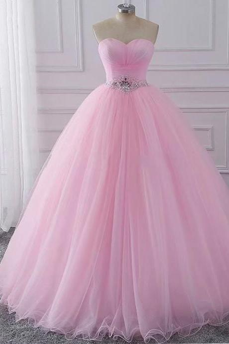 Pink Ball Gown Quinceanera Dresses Elegant Sweet 16 Dress Debutante Gowns Dress Formal Prom Patry Gown