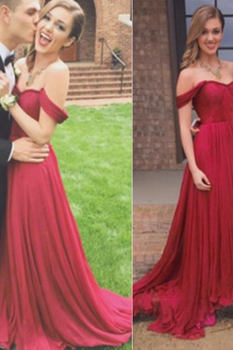 Prom Dress,Chiffon Prom Dress,Pleated Prom Dresses,Long Elegant Prom Dresses Custom Made Prom Dress, Chiffon Prom Dresses, Sexy Prom Dress, Long Prom Dresses,2015 Prom Dresses