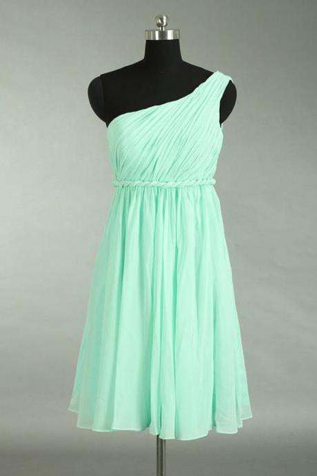 Prom Dress,Chiffon Prom Dress,Mint Green Short Prom dresses,Custom Made Prom Dress, Sexy Prom Dress, Short Prom Dresses,2016 Prom Dresses,Homecoming Dresses, Graduation Dresses
