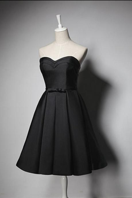 8th grade graduation dresses,Black Homecoming Dresses, Homecoming Dresses,Graduation Dresses,2016 Homecoming Dress,Satin Homecoming Dress,Sexy Homecoming Dress,Short Prom Dresses