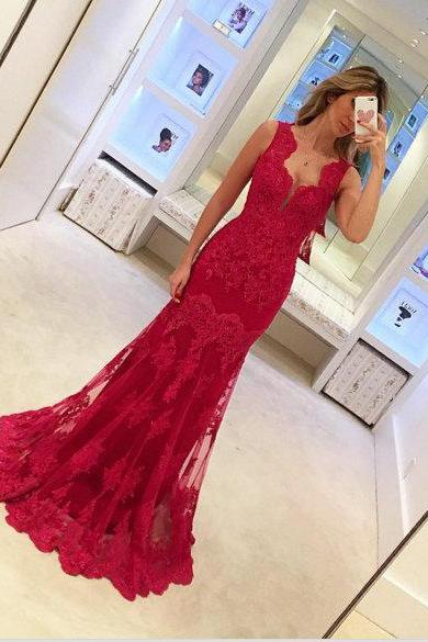 Prom Dress,Burgundy Prom Dress,Sexy Prom dresses,Mermaid Prom Dresses,Custom Made Prom Dress,Long Prom Dresses,2016 Prom Dresses,Prom Dresses