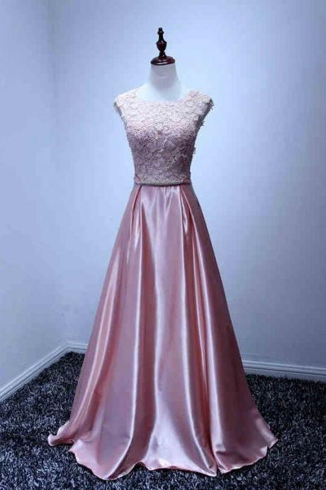 Evening Dresses 2016, Pink Evening Dresses, Satin Evening Dresses, Evening Dresses,Evening Gowns,Lace Evening Dress, Red Carpet Dresses 2016,Long Prom Dresses, Formal Gowns,Party Dresses