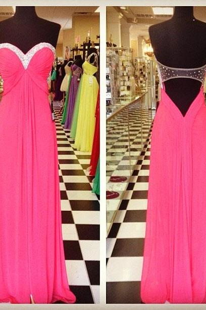 Elegant Long Pink Prom Dresses Sexy Backless Evening Dresses 2016 Real Photo Women Party Dresses Formal Gowns